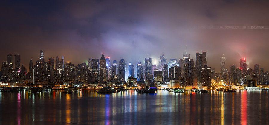 Light Symphony, New-York City by Beboy Photographies on 500px