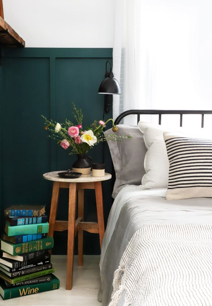» ROOM MAKEOVER | My Guest Room + DIY Barn Wood Picture Ledge