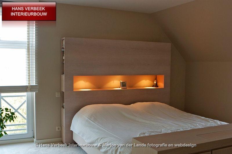 achterwand bed bedombouw met opbergruimte/img_0162 | bed ideas