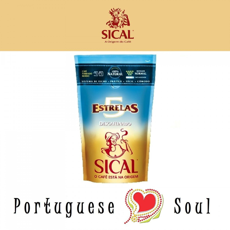 Sical Roasted Ground Coffee Decaffeinated 250g