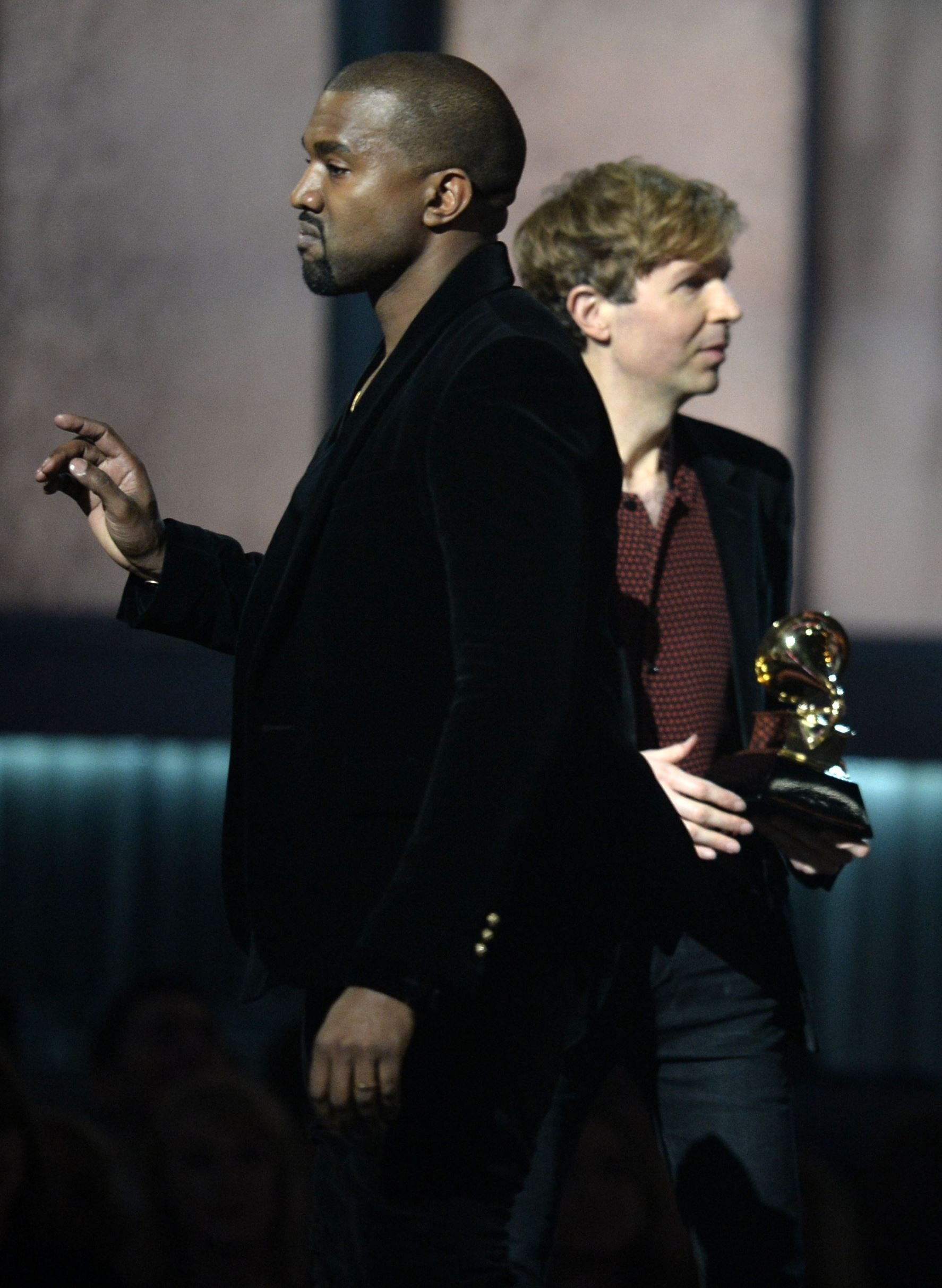 Kanye West New Comments I Love Beck But Beyonce S Better Album Of The Year
