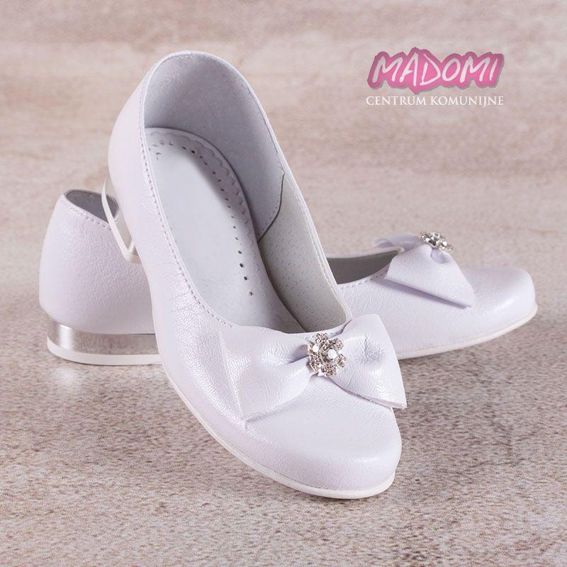 Buty Komunijne Dla Dziewczynki Baleriny Om800 Madomi Shoes Character Shoes Sport Shoes