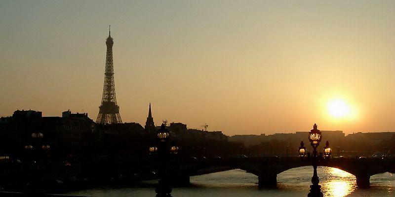 Paris Sunset - Paris, Ile-de-France