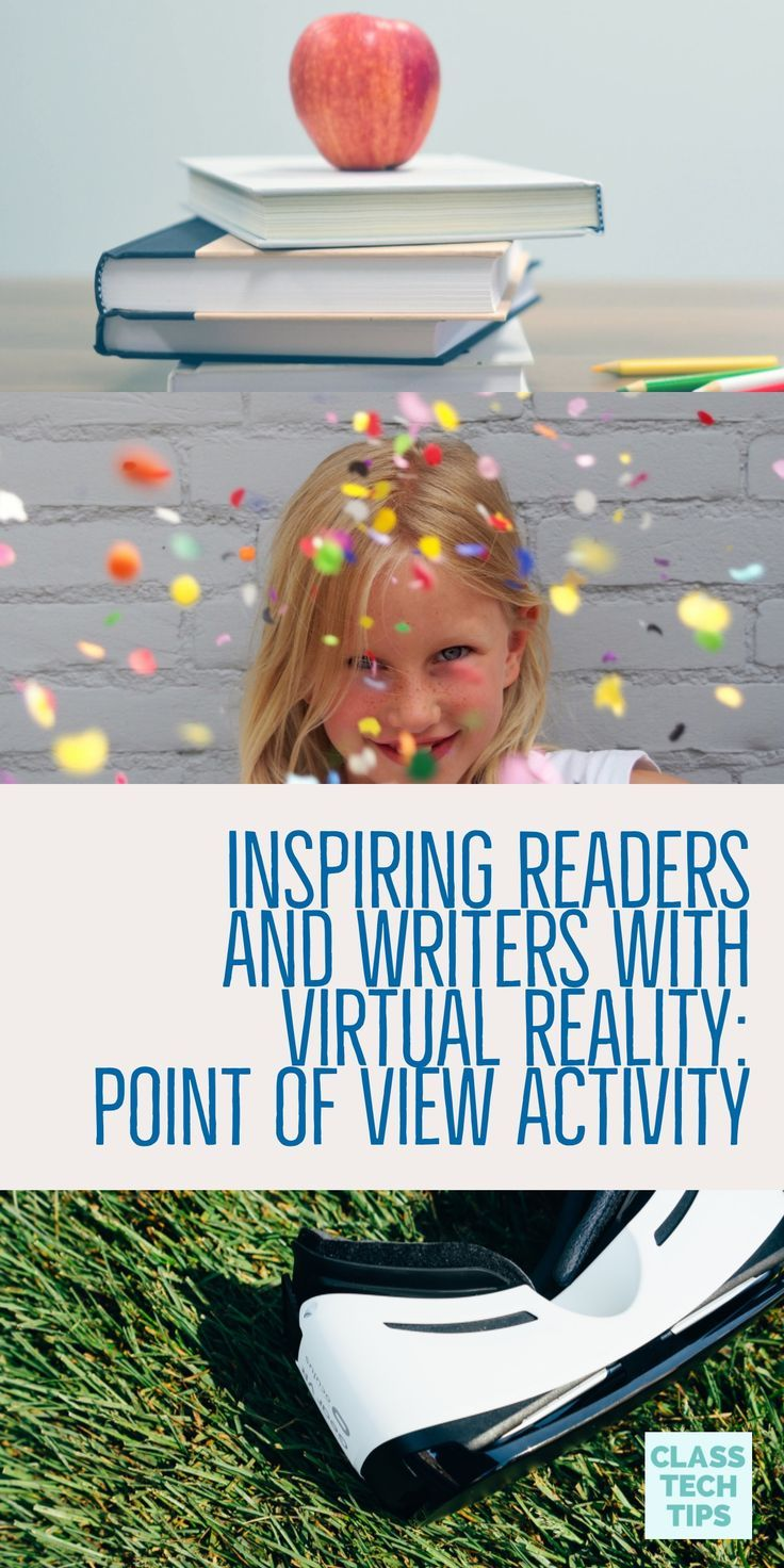Inspiring Readers and Writers with Virtual Reality Point