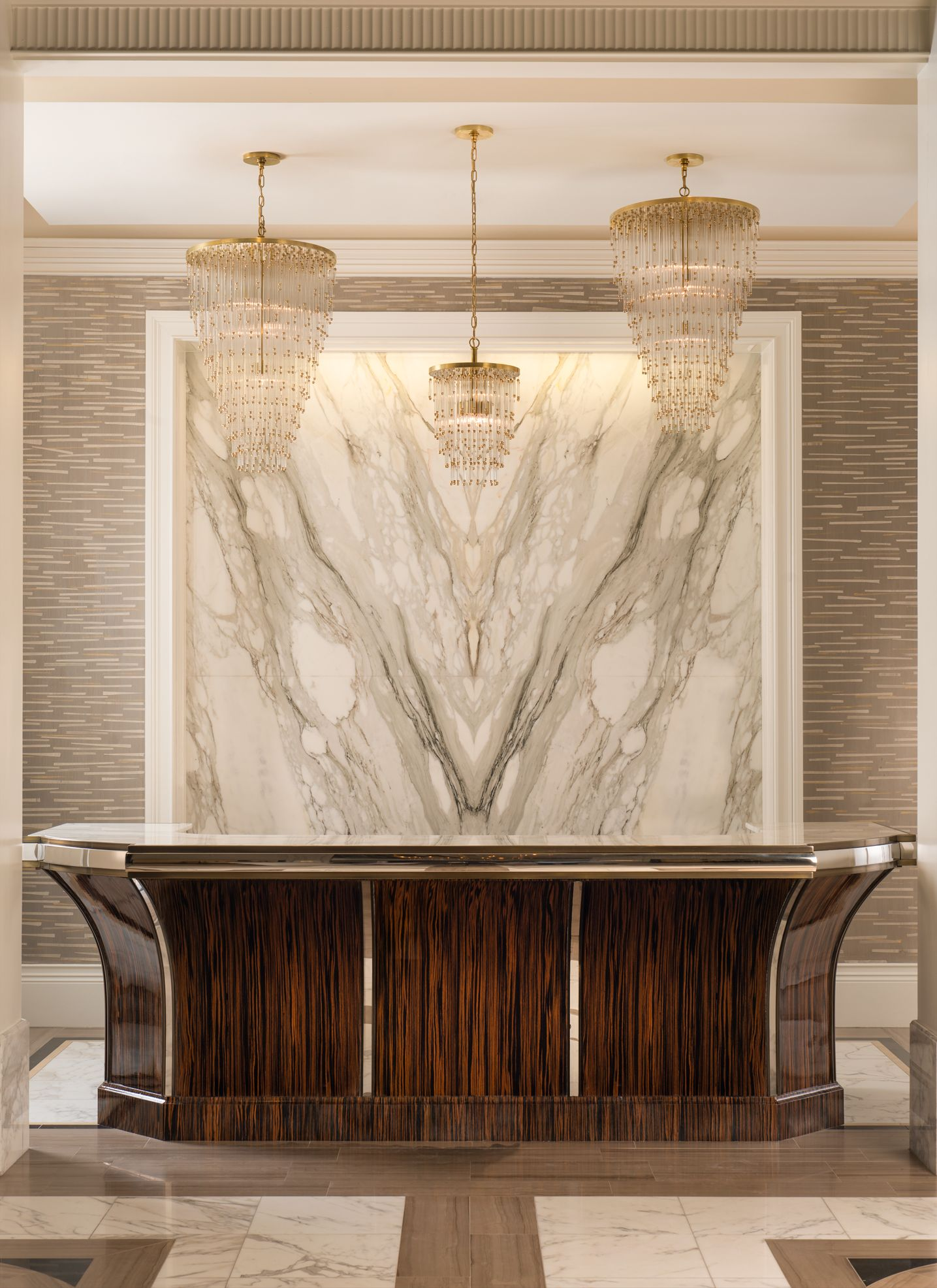 commercial | reception | lobby | design | interiors