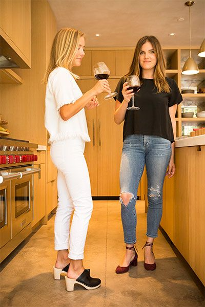 LR Loves: Stephanie Danler and Carly De Castro featuring the Austen Clog  Mule and Clara