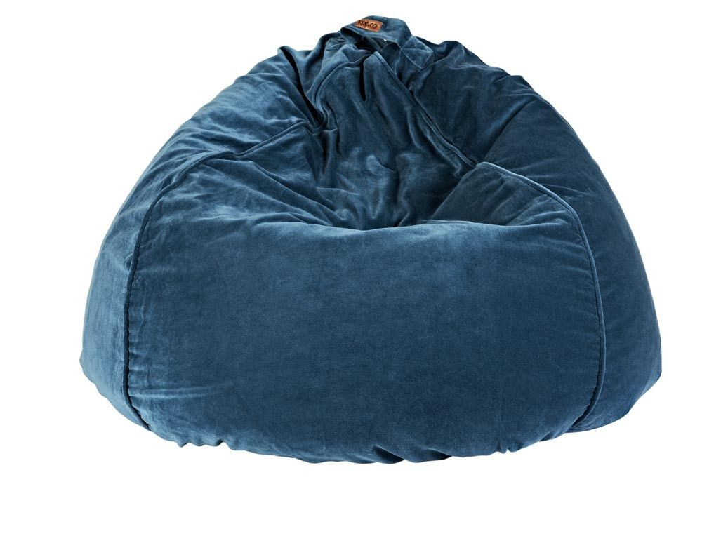 Kip Amp Co Velvet Bean Bag Cover Teal Collected By