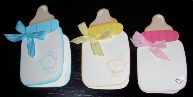 Como hacer tarjetas baby shower invitacion manualidades - Manualidades para hacer tarjetas ...