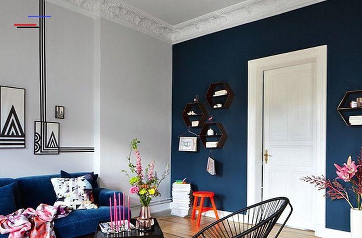 Warna Cat Yang Bagus Untuk Ruang Tamu Biru Dongker Putih 10 Desain Interior Cat Rumah Warna Biru Rumah Minimalis Ga In 2020 Home Room Design Home Decor Room Design