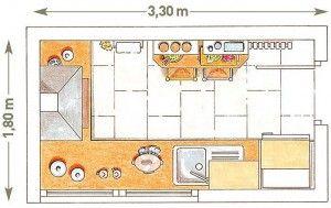 Planos Modernos De Cocinas Medianas Planos De Cocinas Cocina Mediana Disenos De Cocinas Pequenas
