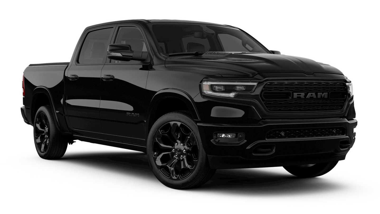 Ram 1500 Limited Black Edition And Ram Heavy Duty Night Editions