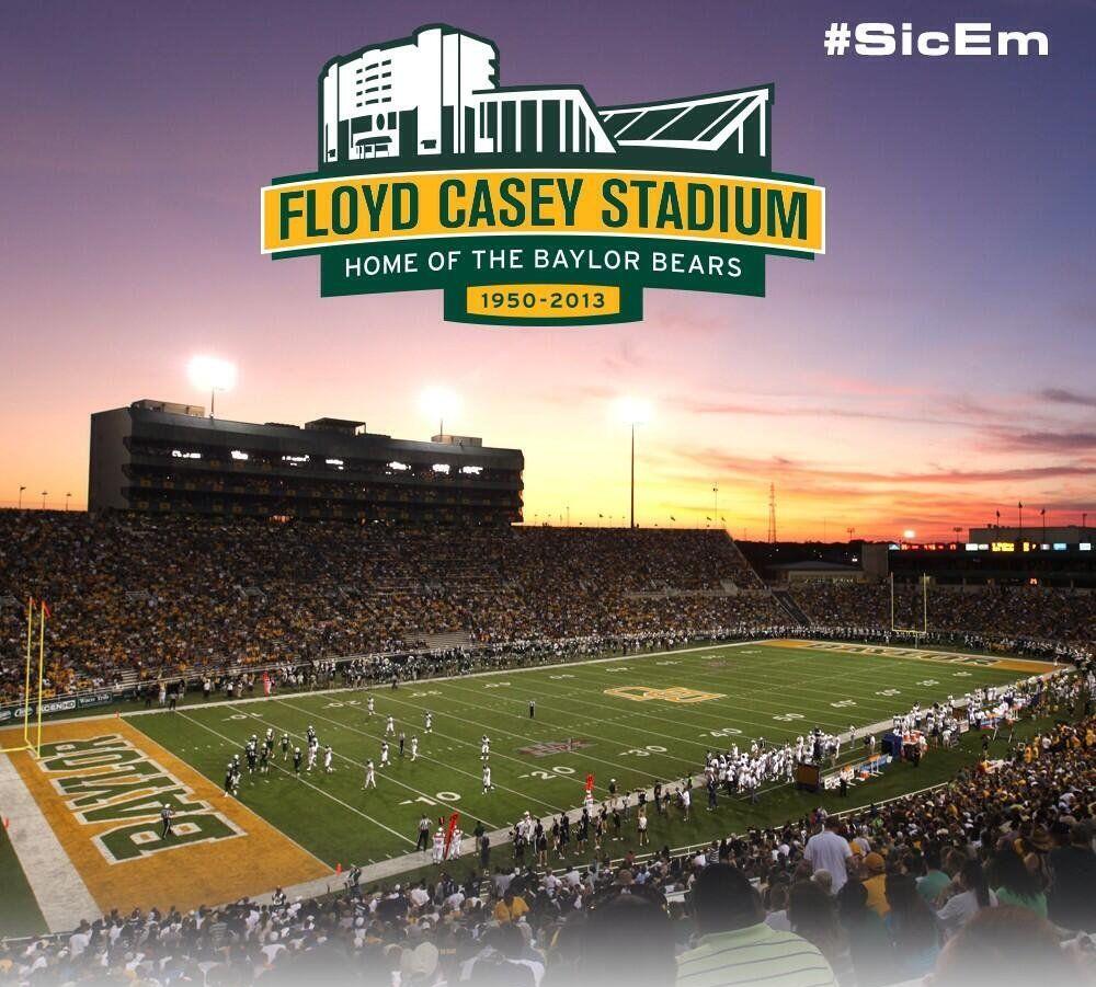 Baylor Planning for Farewell Season in Floyd Casey Stadium