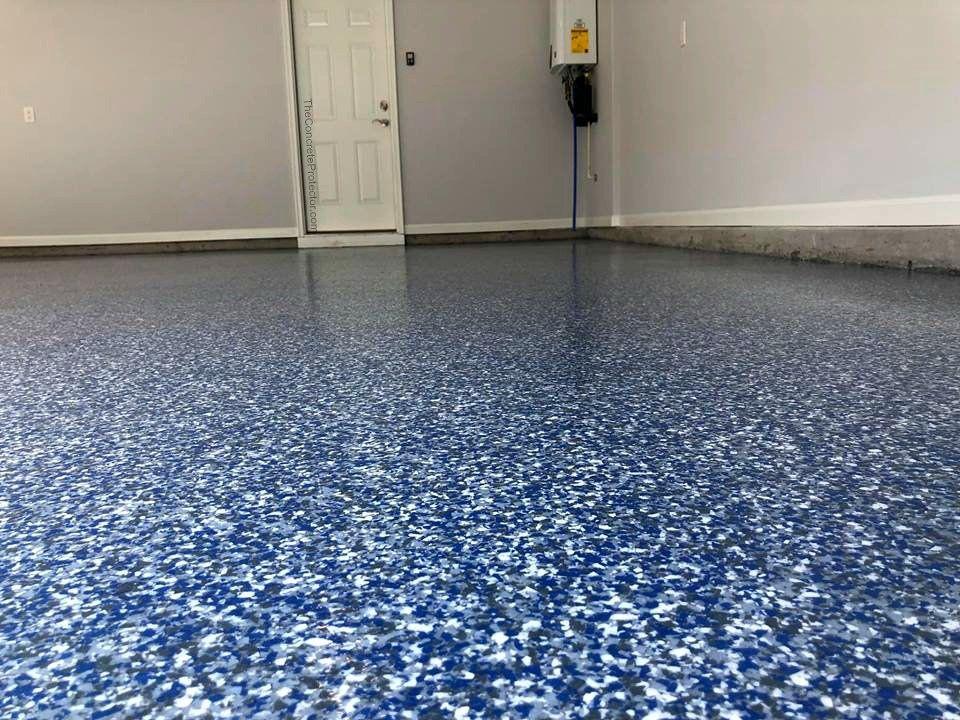 Epoxy Flake Garage Floor Cape Fear Concrete Coatings Leland Nc Garage Floor Epoxy Epoxy Floor Epoxy Floor Coating