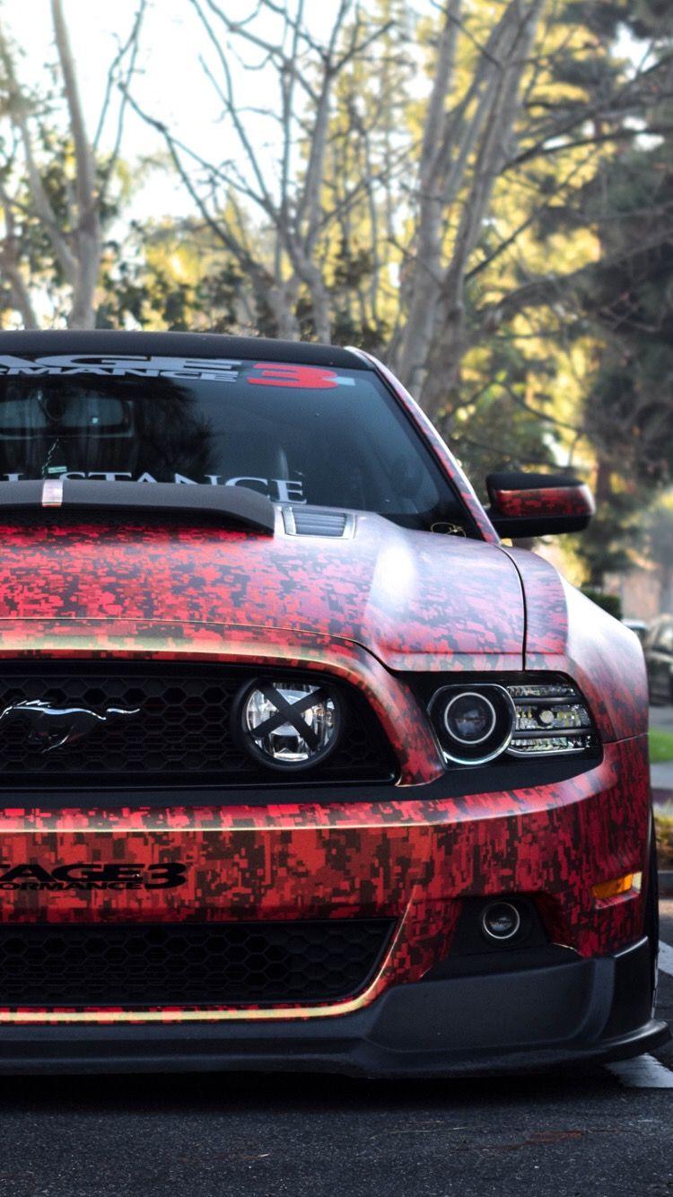 Mustang iPhone wallpaper Fondos de pantalla de coches