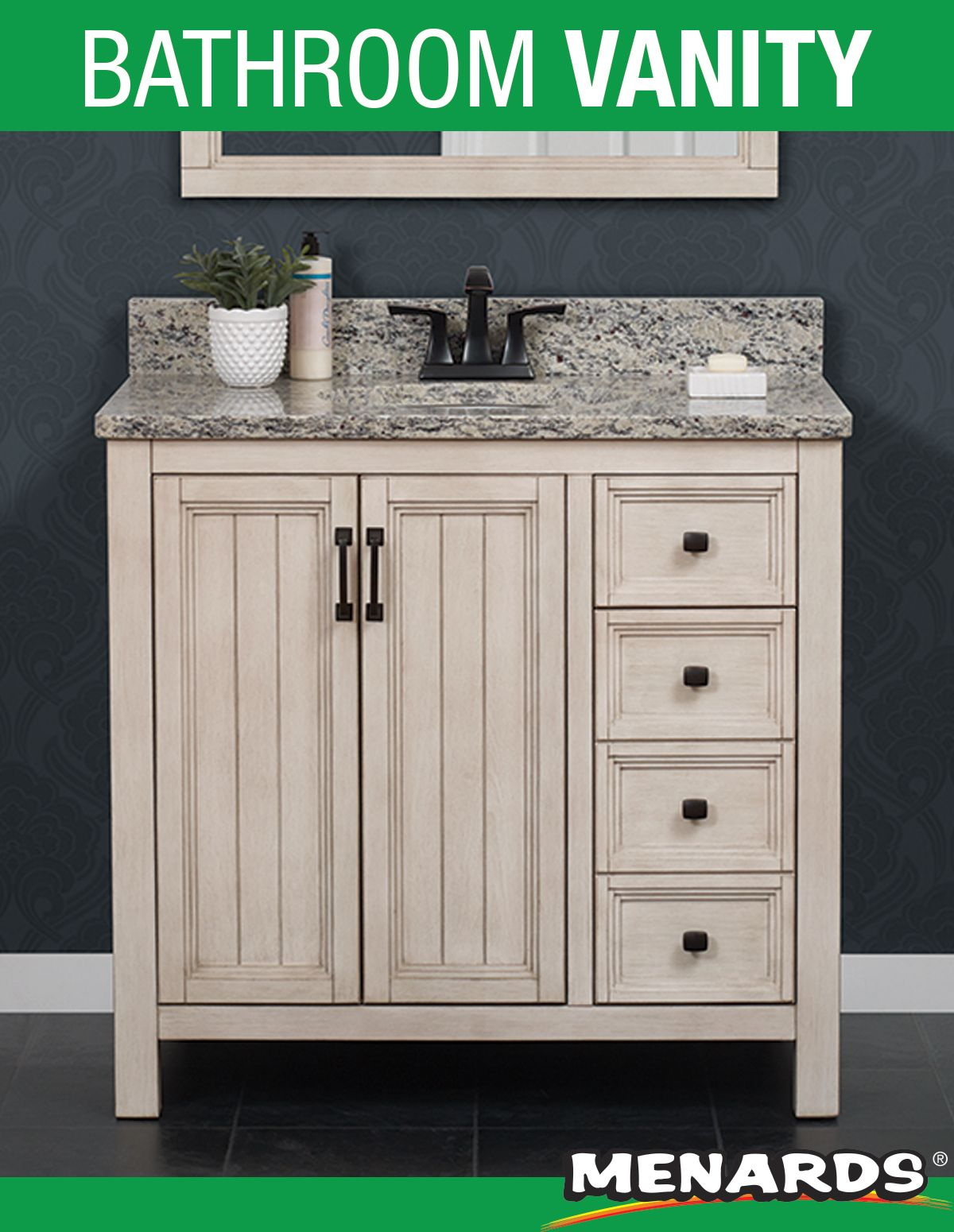 Foremost Hiland 36 W X 21 1 2 D Antique White Bathroom Vanity Cabinet White Vanity Bathroom Vanity Bathroom Vanity
