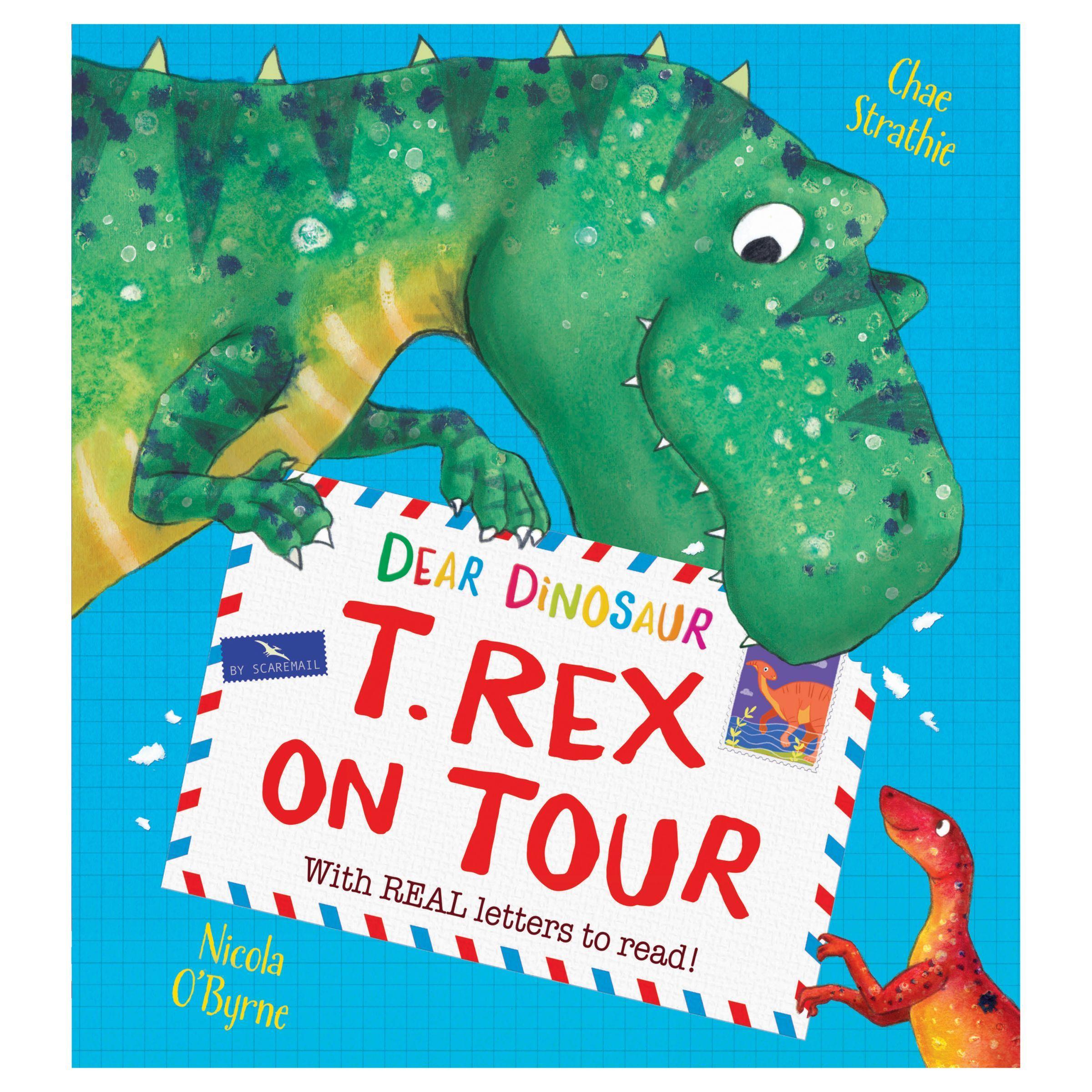 Dear dinosaur trex on tour childrens book dinosaur