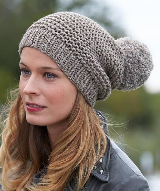 Mütze S8549 Gratisanleitung Knitted Headwears Pinterest