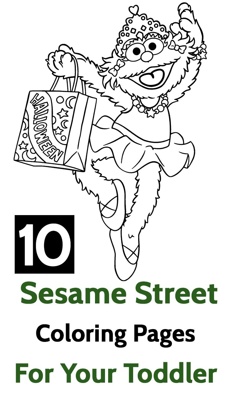 Top 15 Free Printable Sesame Street Coloring Pages Online | Coloring ...