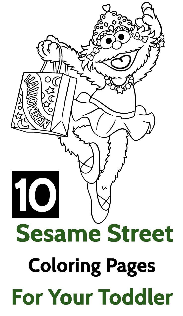 Top 15 Free Printable Sesame Street Coloring Pages Online | Sesame ...