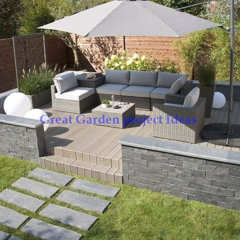 10 Different And Great Garden Project Anyone Can Make In 2020 Patio Garden Design Patio Decor Patio Design