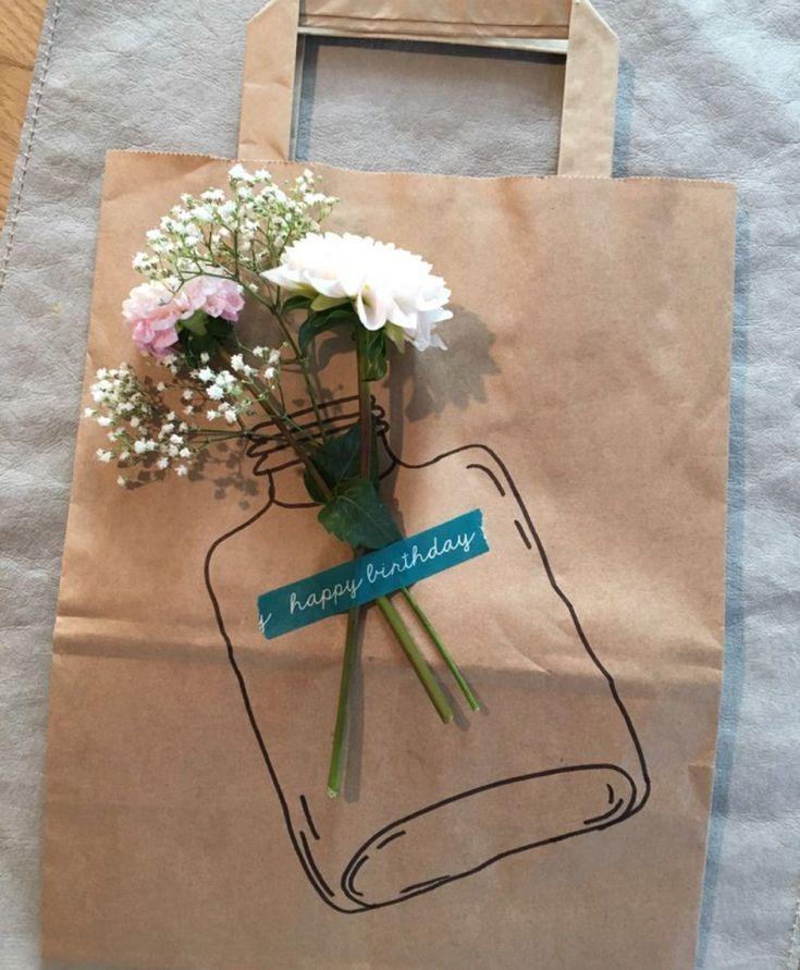 DIY Geschenktüte Geschenkverpackung #coffeebarideas