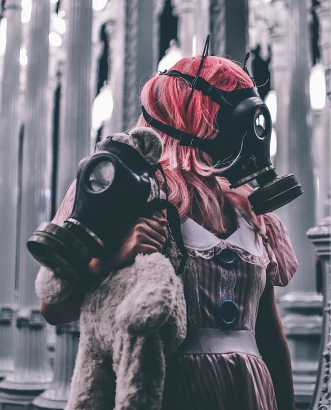 Twisted Tales Gas Mask Girl Gas Mask Art Mask Girl