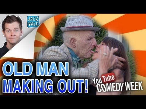 Old men making out