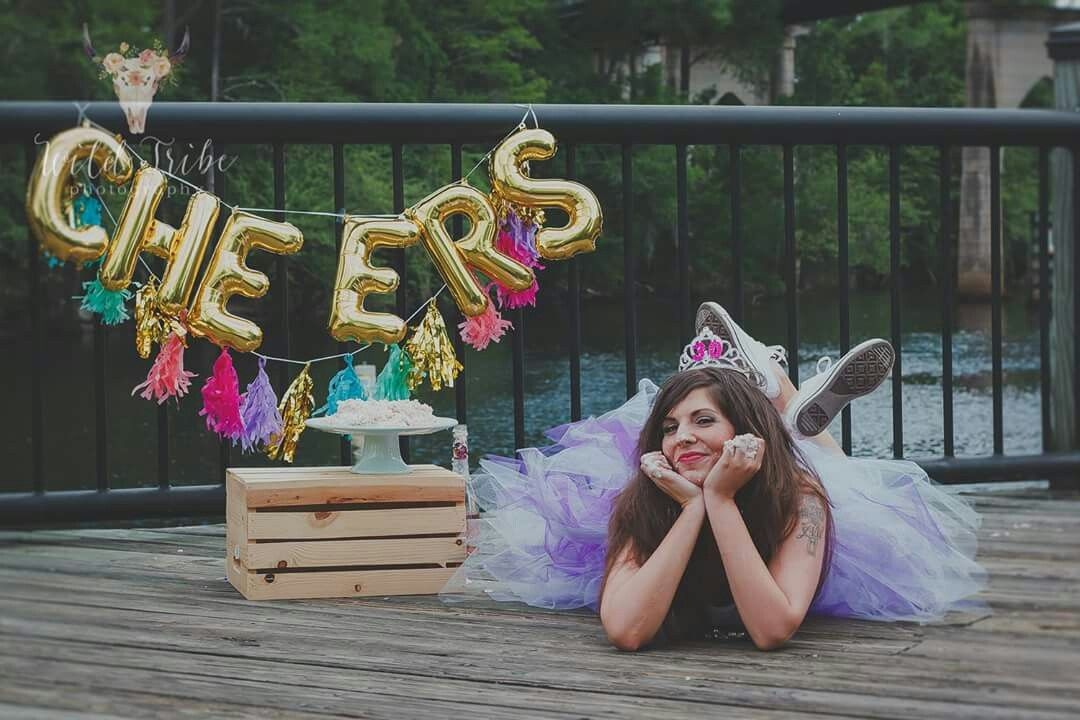 Adult Birthday Cake Smash With Wild Tribe Photography In Myrtle