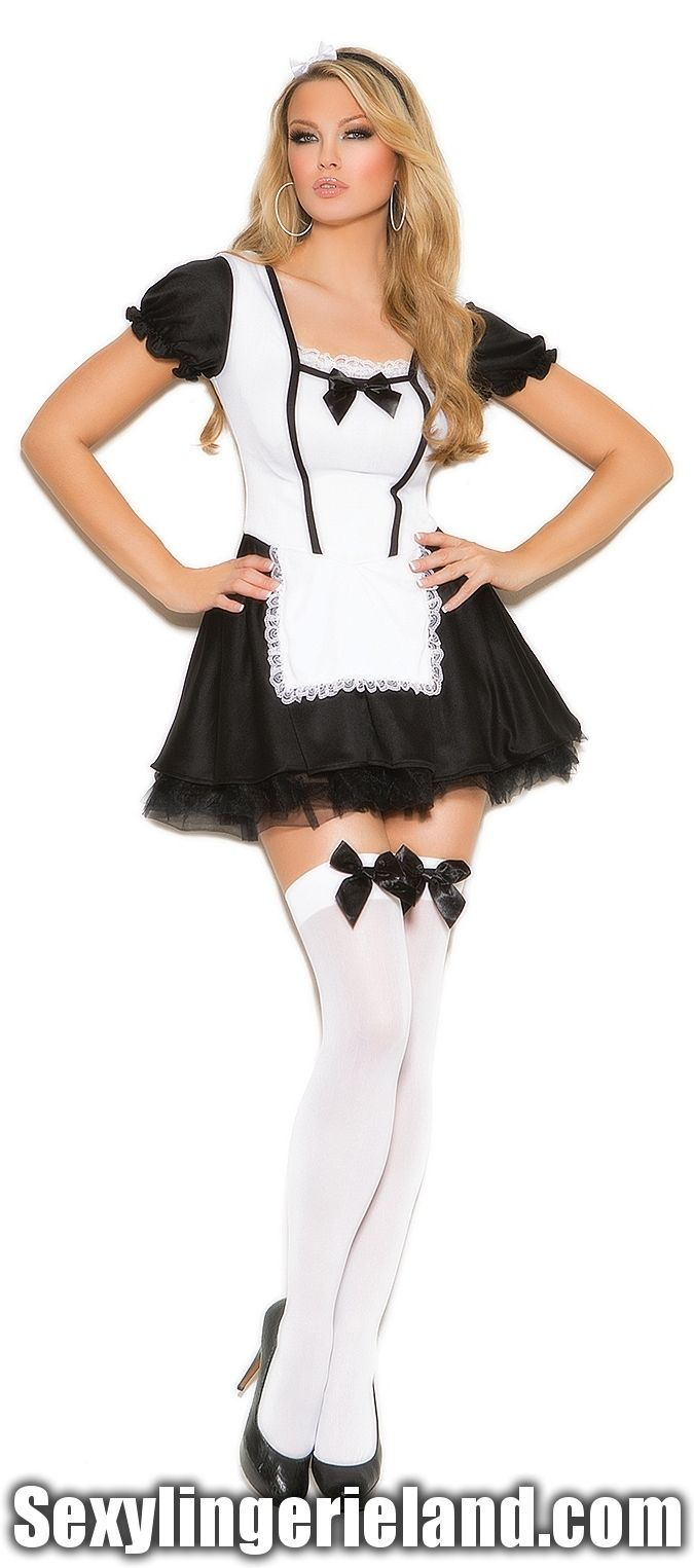 06b737db83331 EM-9089 French Maid Costume | Women's Halloween costumes & Sexy ...