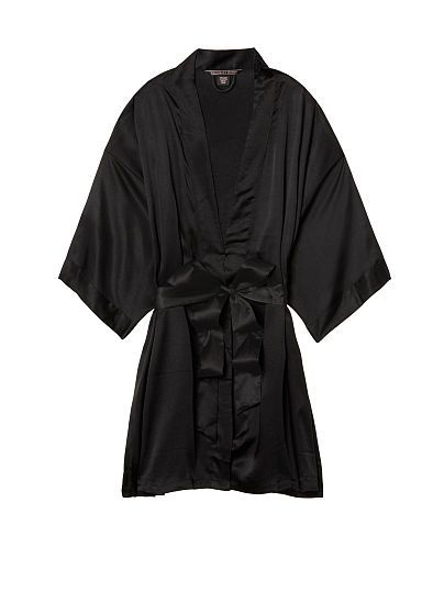 1677fbedd0684 Satin Kimono- Victoria Secret Robe | loung wear | Satin kimono ...