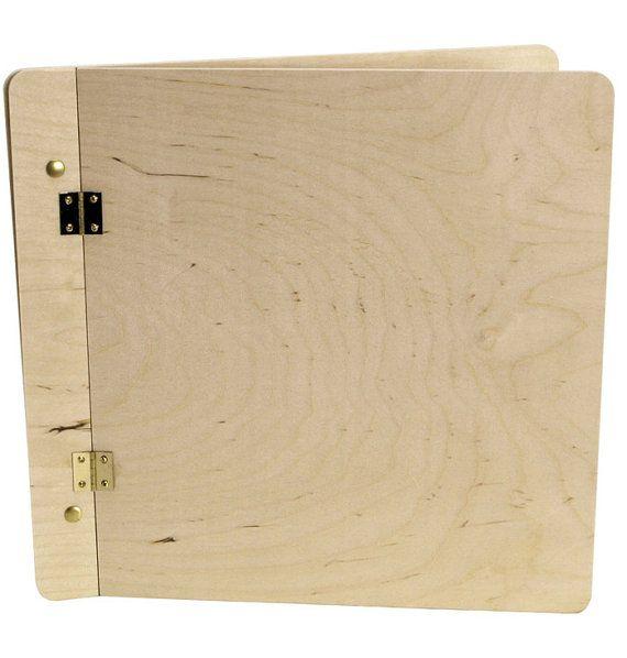 Unfinished Wood Photoscrapbook Album Cover Diy Scrapbookphoto Book