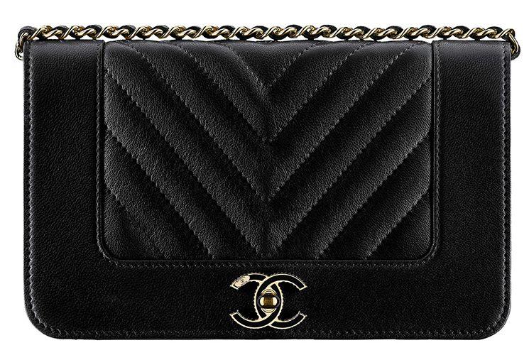 8a634db22130 Chanel Mademoiselle Vintage Chevron WOC