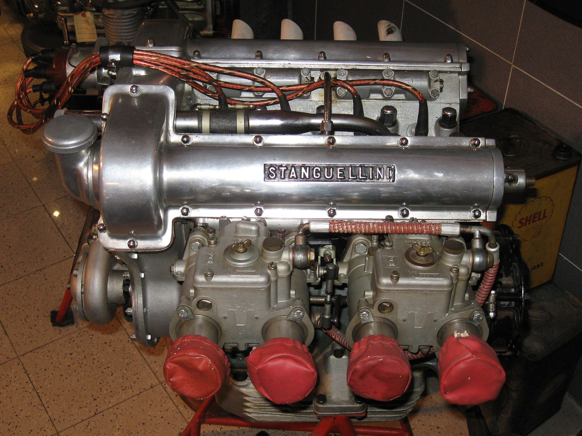 Stanguellini racing engine