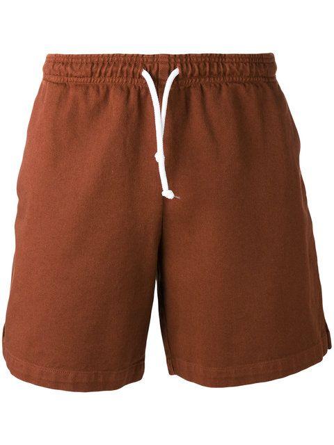 GOLDEN GOOSE Drawstring Retro Shorts. #goldengoose #cloth #shorts