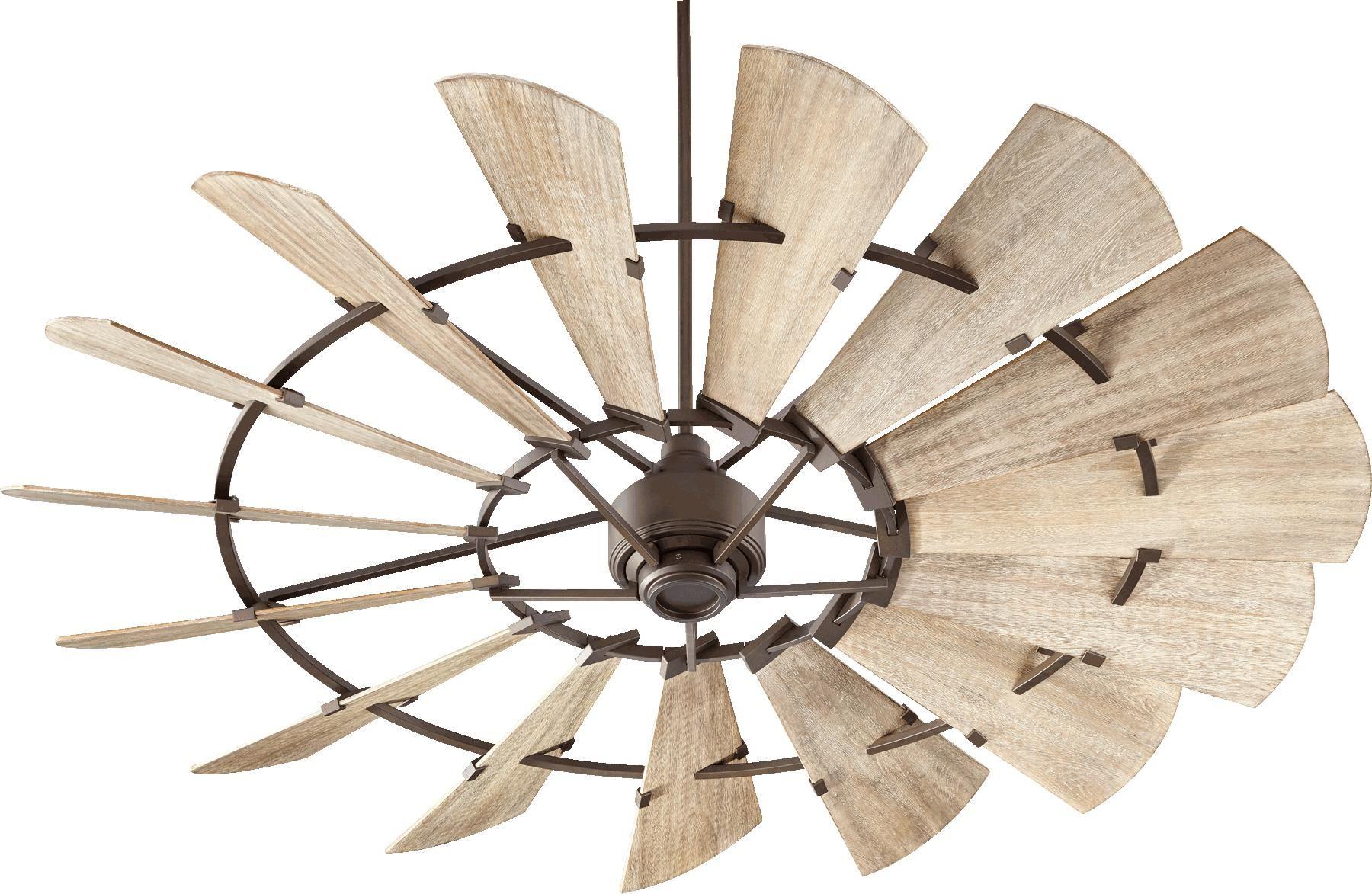 Quorum 72 Windmill Ceiling Fan Indoor In Oiled Bronze Windmill Ceiling Fan 72 Ceiling Fan Ceiling Fan