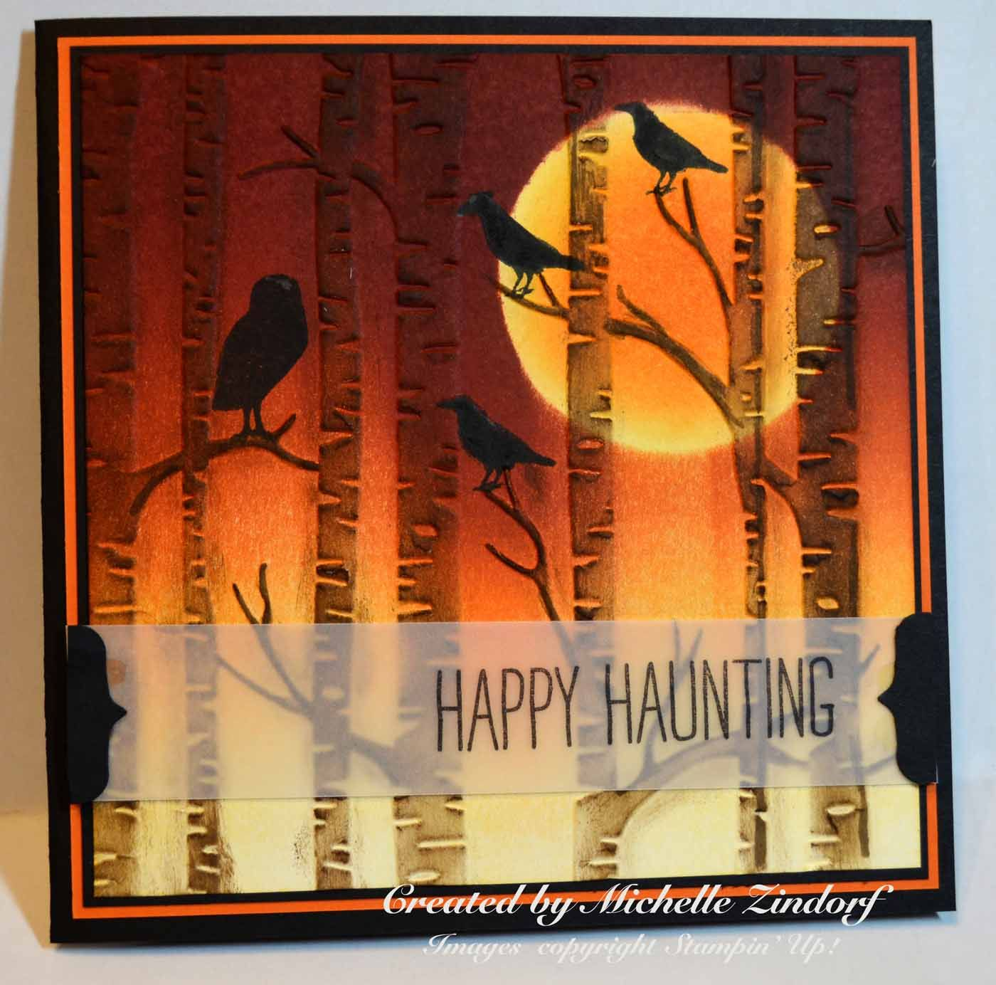 among the branches stampin up Google Search Halloween