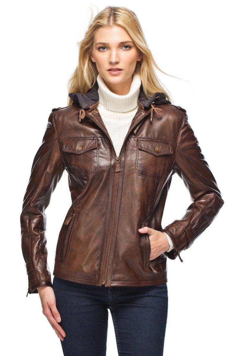 Derimod Bayan Deri Ceket Modelleri Deri Ceket Deri Giyim