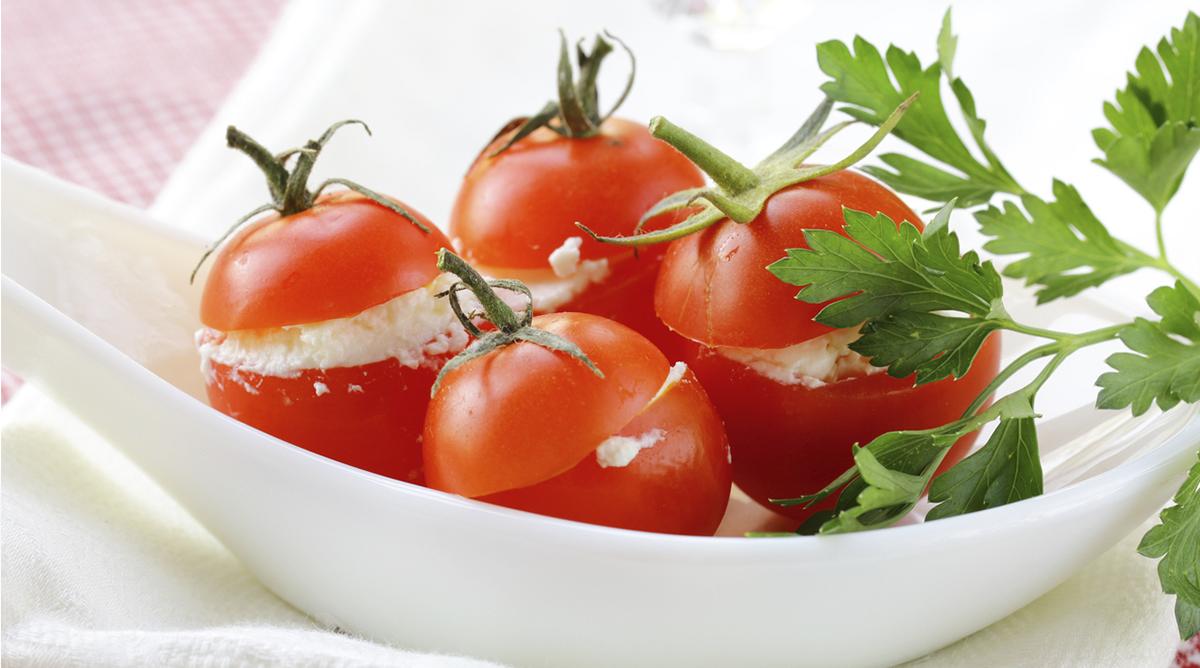 Tomate farcie Kiri ® ciboulette | Tomates, Idée repas et ...