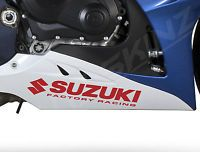 2x Suzuki Racing Premium Motorbike Decals Stickers GSXR 600