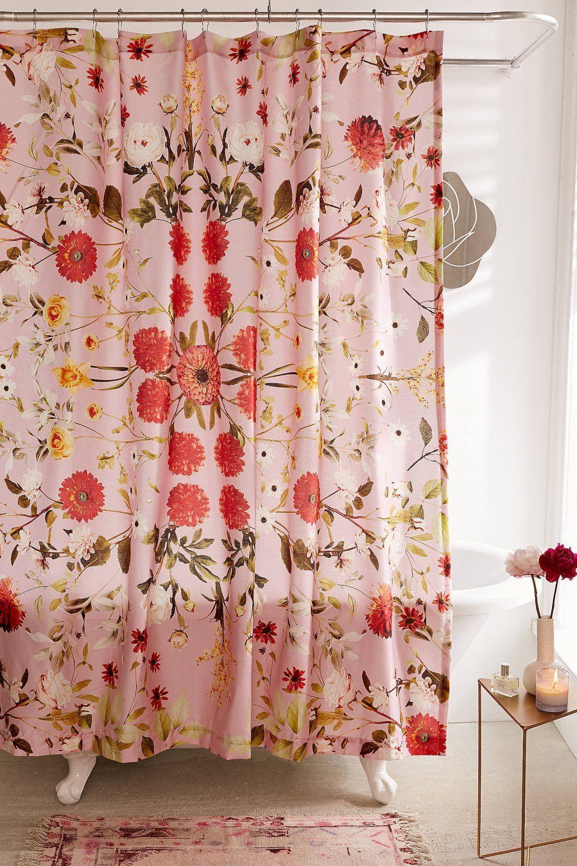 Shower Curtain Liner Floral Shower Curtains Vintage Home Decor Home Decor