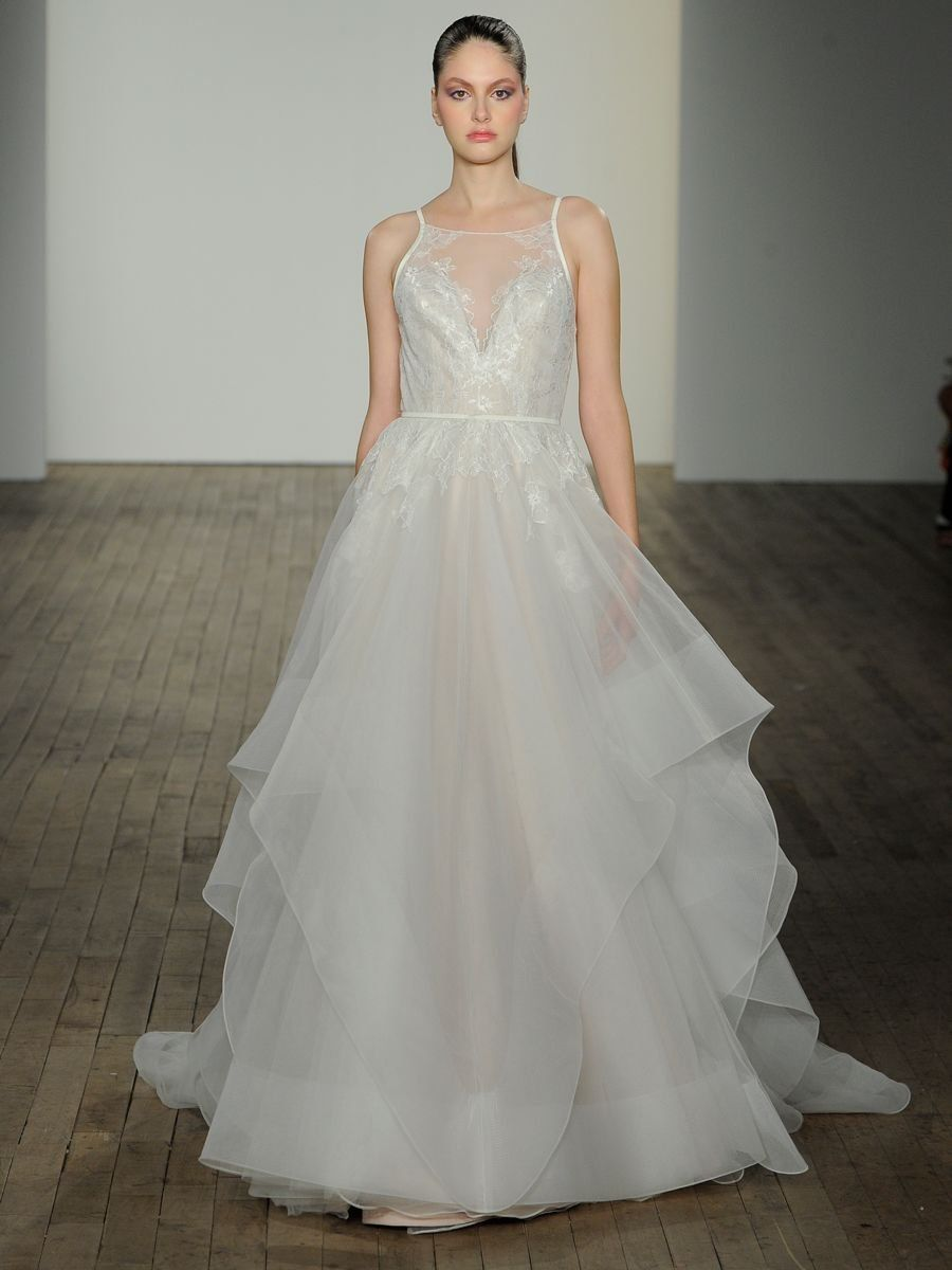 See Hayley Paige Wedding Dresses From Bridal Fashion Week