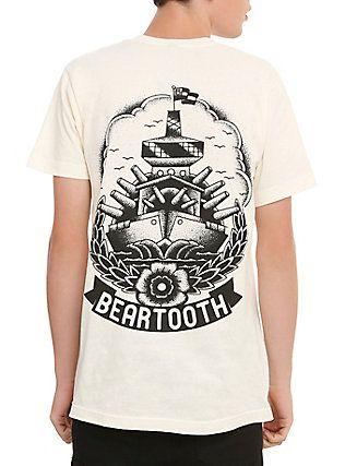 Beartooth Battleship T-Shirt, NATURAL