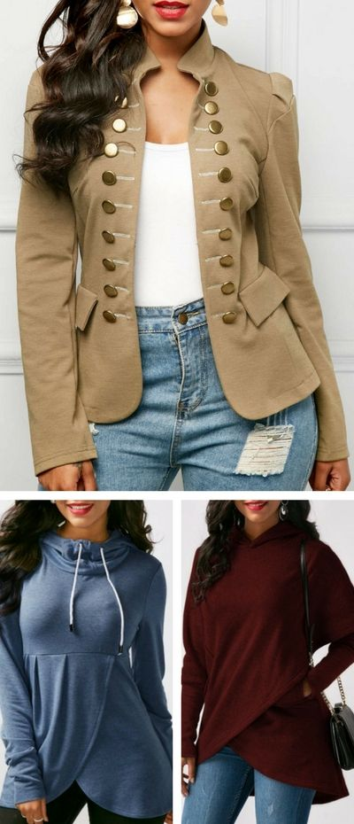 winter coat, hoodie, blouse and so on, free shipping worldwide at Rosewe.com.