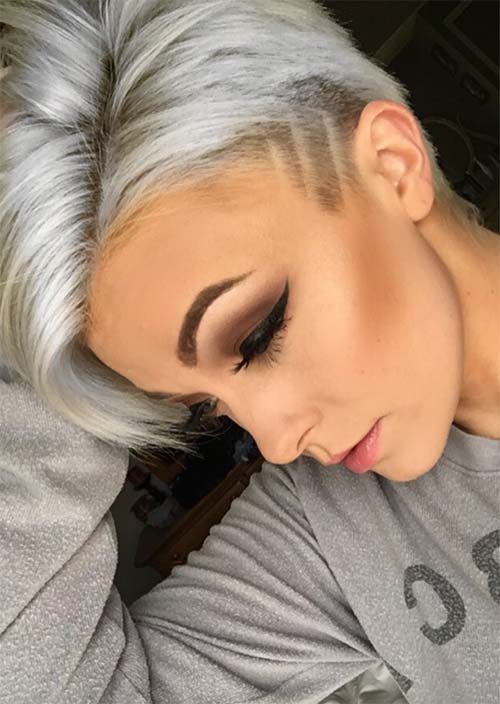 51 Edgy And Rad Short Undercut Hairstyles For Women Edgy Hairstyles Rad Short Shortha Undercut Hairstyles Short Hair Undercut Short Hair Styles