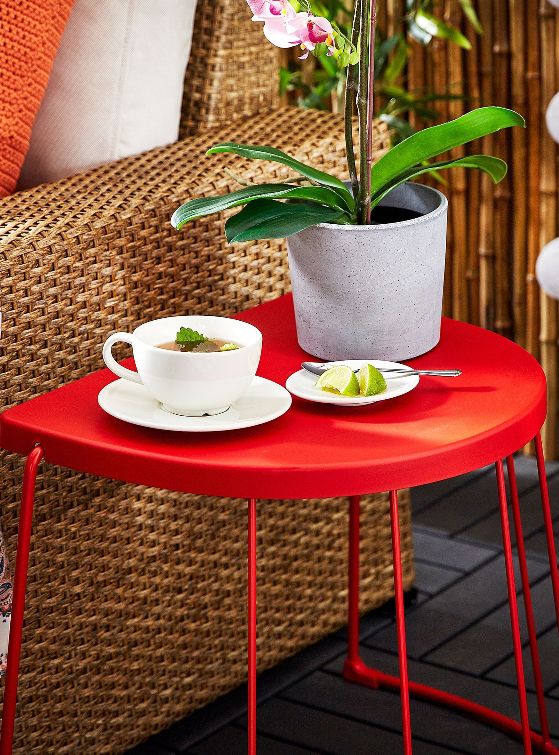The Best Indoor Outdoor Accessories To Cop From Ikea S Memorial Day Sale Ikea Side Table Ikea Lack Coffee Table Side Table Wood [ 2400 x 1776 Pixel ]