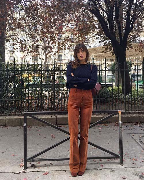 15 Pantalones De Pana De Mujer Que Vas A Querer Nomad Bubbles Pantalones De Pana Pantalones Moda