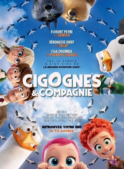 Telecharger Cigognes Et Compagnie Gratuit Zone Telechargement Site De Telechargement Gratuit Storks Movie Kids Movies Stork