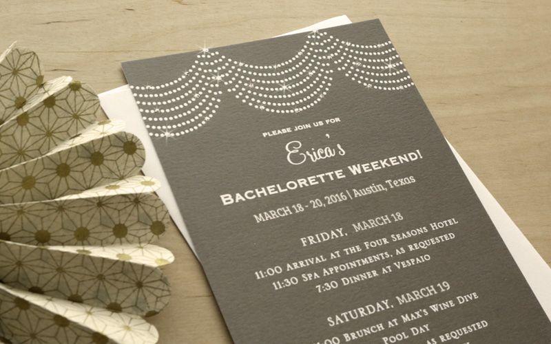 Wedding DIY: Embellished Invitations   Expressionery #wedding