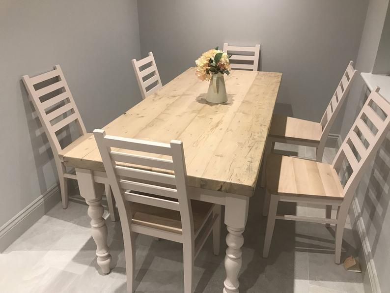 Fantastic Beech Dining Chairs Painted To Order Solid Wood Ladder Back Customarchery Wood Chair Design Ideas Customarcherynet