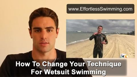 53d42e3839e How To Change Your Technique For Wetsuit Swimming - Effortless Swimming
